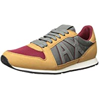 A|X Armani Exchange Men's Retro Running Sneaker Fashion...