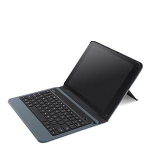 Belkin QODE Slim Style Keyboard Case for iPad Air - Slate (F5L152ttC01) from Belkin Components