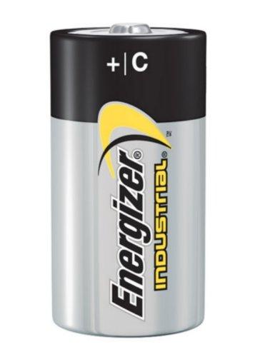 EnergizerIndustrial Alkaline C Battery, Noen93, 1-Count (Pack of 72)