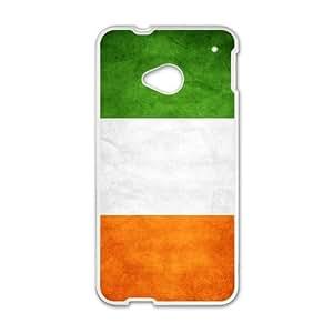 Irish Flag HTC One M7 Cell Phone Case White P6680181