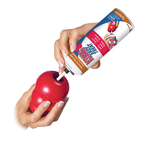 Large Product Image of Kong Stuff'N Easy Treat, 8-Ounce, Peanut Butter