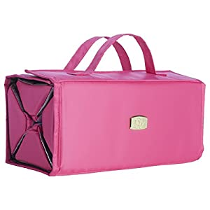 Joy Mangano Large Bbc Beauty Case, Fuchsia