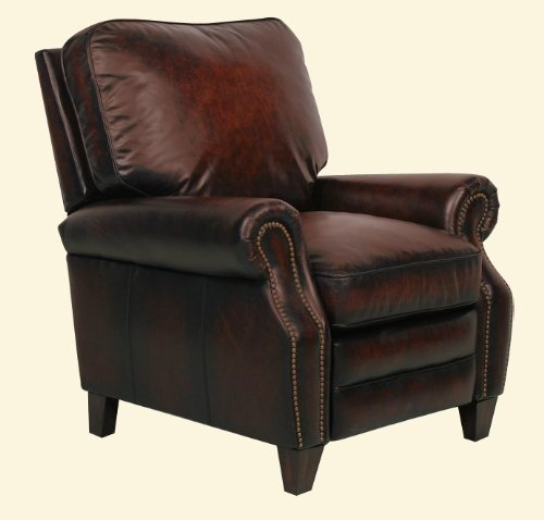 Briarwood ll Leather Recliner Color: Stetson Bordeaux (Briarwood Furniture)
