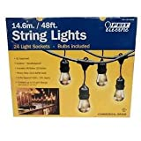 Amazon Price History for:Feit Electric 48ft / 14.6m Outdoor String Lights(48 Feet)