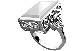 Smart Ring, Waterproof App Enabled Ring for iPhone, iOS and All Android Windows NFC Mobile Phones