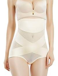 Shapewear for Women Hi-Waist Brief Tummy Control Underwear Slimmer Body Shaper Butt Lifter Panty Girdle