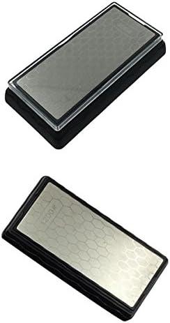 ダイヤモンドコーティング400/1000#400/1200#両面研磨キッチンシャープナー