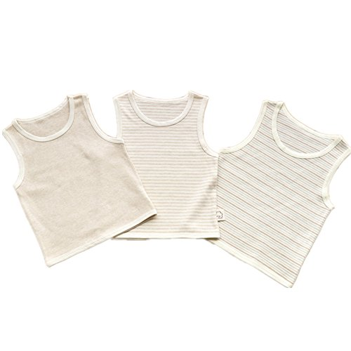 Gemini Fairy Unisex Baby Organic Cotton 3 Pack Tanks (73) by Gemini Fairy