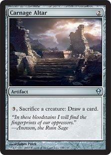 Magic: the Gathering - Carnage Altar (198) - Zendikar - Old Altar