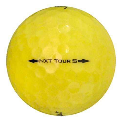 Titleist NXT Tour Yellow Mix Near Mint Recycled - 4 Dozen