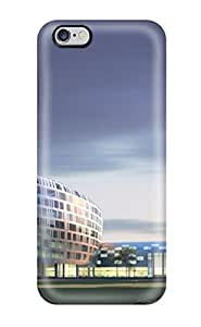 Iphone 6 Plus Case Cover - Slim Fit Tpu Protector Shock Absorbent Case (beautiful Buildings Around The World)