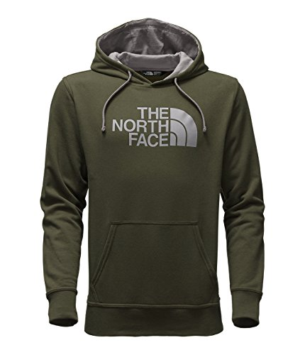 The North Face M Half Dome Hoodie (X-Large, Rosin Green/Mid Grey)