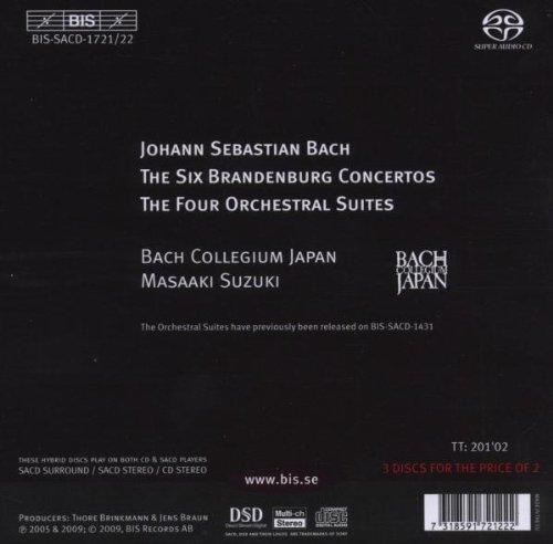 Bach, J.S.: Brandenburg Concertos Nos. 1-6 / Orchestral Suites Nos. 1-4 by BIS