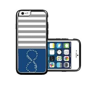 RCGrafix Brand hakuna-matata emrald green Chevron black iPhone 6 Case - Fits NEW Apple iPhone 6