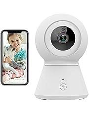 YI IOT YSJK2WHEU4 Telecamera di Sorveglianza Sistema di Sicurezza Indoor con WiFi, Audio Bidirezionale, Bianco