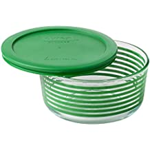 Pyrex Simply Store Green Lane 4 cup 950mL with Green Plastic Cover