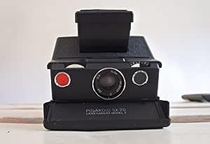 Polaroid SX-70 kamera - svart och svart hud