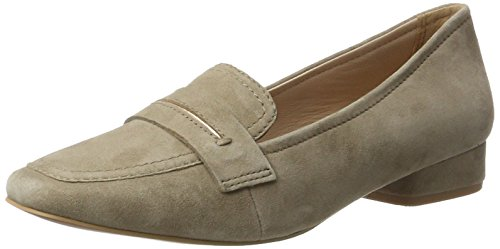 Be Natural 24205, Mocasines para Mujer Beige (Taupe 341)