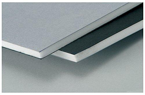Westfoam 5 Mm 20 X 30-Inch Foamboard - Black/Grey (Pack Of 25 Sheets)