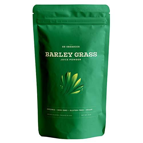SB Organics Barley Grass Powder