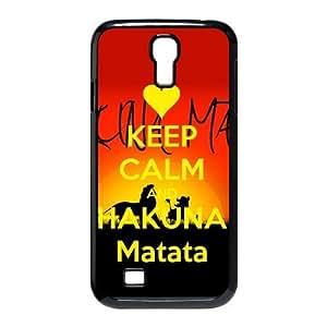Hakuna Matata SamSung Galaxy S4 I9500 case Keep Calm Customized Back Protective Hard Plastic Cover Case for SamSung Galaxy S4 I9500