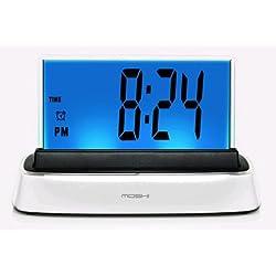 Moshi Elite Speak N Set Voice Activated Desk Clock