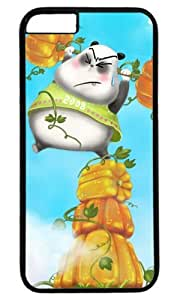 Funny Panda And Pumkins Easter Thanksgiving Masterpiece Limited Design PC Black Case for iphone 6 by Cases & Mousepads