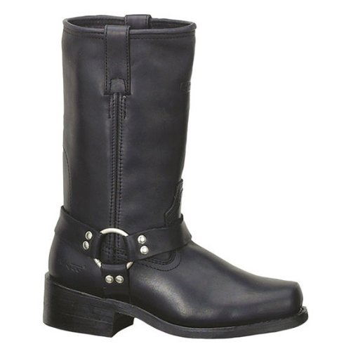 Square Toe Harness Boots - 5
