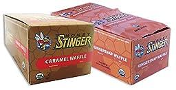 Honey Waffle-Caramel/Gingersnap-16 of Both Flavors (32 Total Waffles)