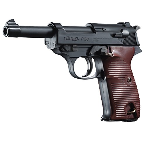 (Walther P38 2252730 Semi Automatic BB Air Pistol 400fps 0.17)