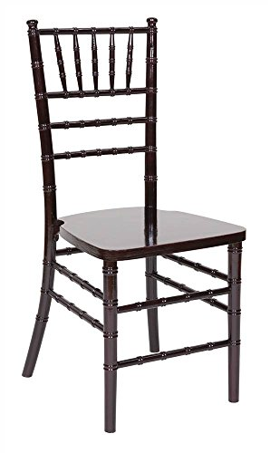Chiavari Chairs in Mahogany - Set of 4 (Chairs For Sale)