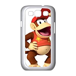 Samsung Galaxy S3 9300 Cell Phone Case White Super Smash Bros Diddy Kong Dqnkh