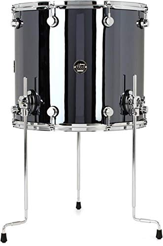 DW Performance Series Floor Tom - 16 Inches X 18 Inches Chrome Shadow FinishPly by DW