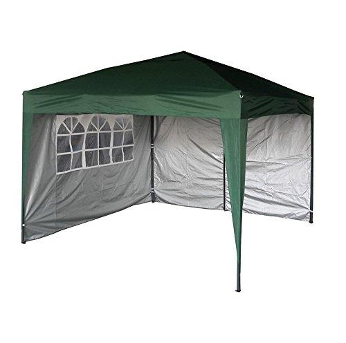 Waterproof Pop Up Shelter : Mcc home premier m green waterproof pop up gazebo with