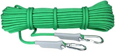 LQH Escalada Arnés de Seguridad de Cuerda, de 9,5 mm de ...