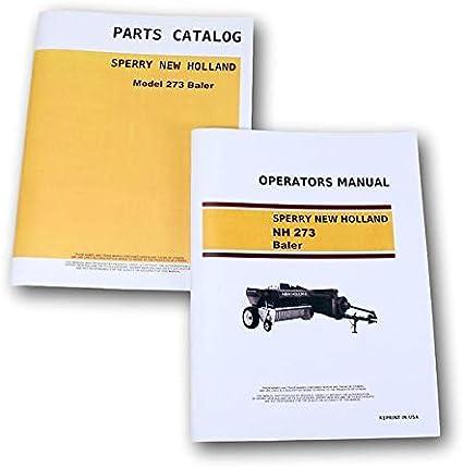 New Holland 66 Baler Owners Operators Manual