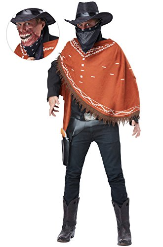 California Costumes Men's Gruesome Outlaw Costume, Brown One -