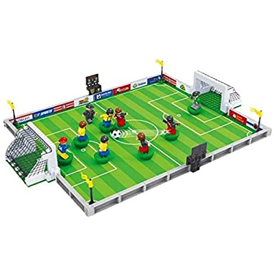 Mopoq Football Building Blocks World Cup Ball King Fighting Puzzle Assembly Small Particles Boys Children's Toys Board Game Children's Educational Toys: Home & Kitchen