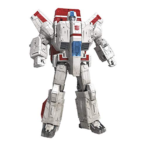 Transformers Toys Generations War for Cybertron Commander Wfc-S28 Jetfire Action Figure - Siege Chapter - Adults & Kids Ages 8 & Up, 11