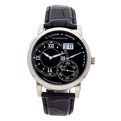 A. Lange & Sohne Lange 1 Mechanical (Hand-Winding) Black Dial Mens Watch 115.029 (Certified Pre-Owned)