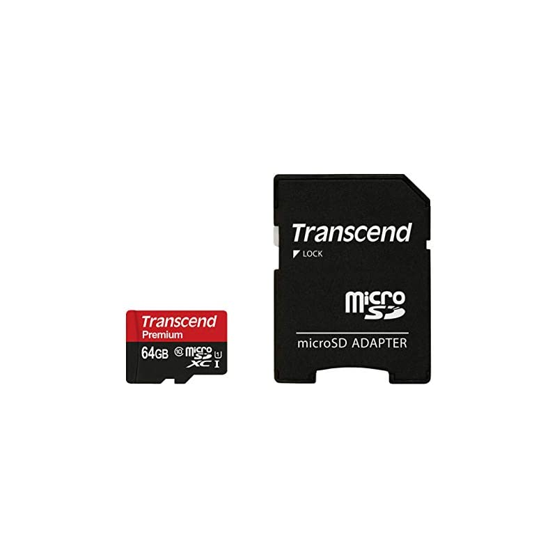 Transcend 64GB MicroSDXC Class10 UHS-1 M