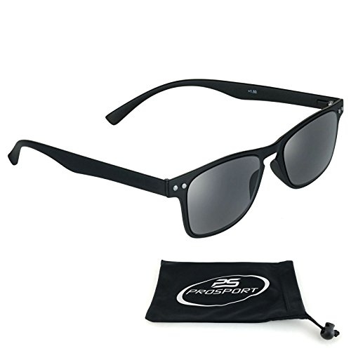 Square Reading Sunglasses with Flexible and Ultra Light - Sun Sunglasses Ultra