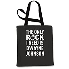 DescriptionThe Only Rock I Need Is Dwayne JohnsonAll of our designs are printed in the U.S. on high quality garments, providing a super comfortable fit.Expression Tees has everything in stock and ready to ship. Most orders ship same day or th...