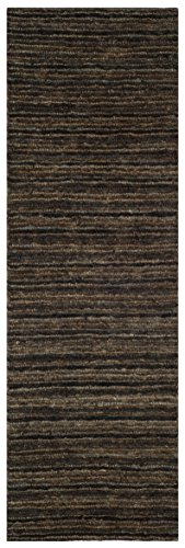 Safavieh Organica Collection ORG515A Hand-Knotted Black and Natural Wool Area Rug 2 6 x 4