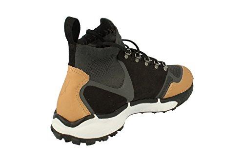 Nike Mens Air Zoom Talaria Mid Fk Prm Scarpe Casual Antracite Nero Vanchetta Tan 001