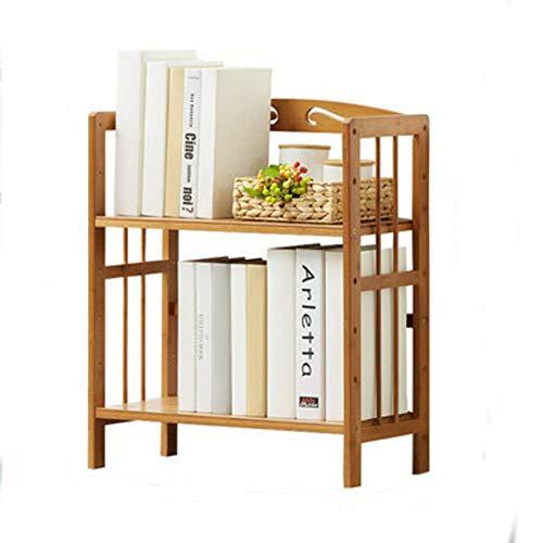 Jcnfa-Estante Estante De Libros Bambú Rack De Almacenamiento Multicapa Soporte De Suelo Librería Infantil para Niños...