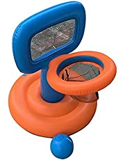 Fun Little Toys Floating Pool Basketball Hoop, Pool Basketball Game for Kids with 1 Balls