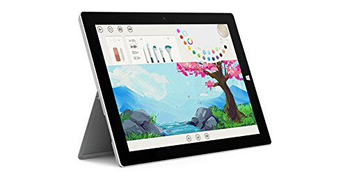 Microsoft Surface 3 Bundle - 5 Items: 128GB Wi-Fi Only Quard-Core 10.8-Inch Tablet, Original Blue Keyboard, Surface Pen, Samsung 32GB SDHC Card and 2-in-1 Travel Charger