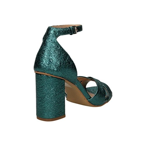 Bruno Premi ,  Damen Schuhe mit Riemchen Petrolio
