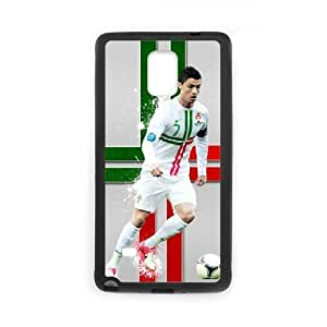 Protective Fits Cover Samsung Galaxy Note 4 N9108 Cell Phone Case Black Azqix Cristiano Ronaldo Hard Pattern Cases